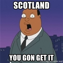 ollie williams - scotland you gon get it