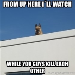 Roof Dog - From up here i´ll watch while you guys kill each other