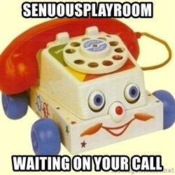 Sinister Phone - Senuousplayroom waiting on your call