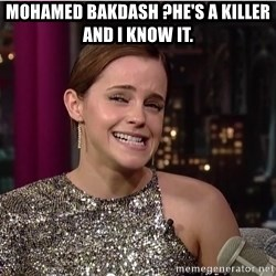 Emma Watson Trollface - Mohamed Bakdash ?He's a killer and I know it.