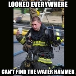 Furious Firefighter - looked everywhere can't find the water hammer