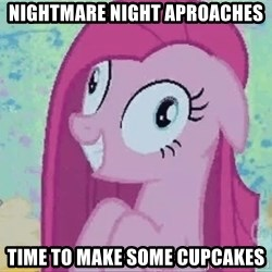 Crazy Pinkie Pie - Nightmare Night Aproaches Time to make some cupcakes