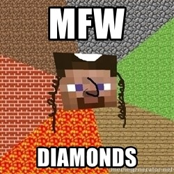 Minecraft Jew - MFW Diamonds