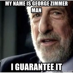 mens wearhouse - MY NAME IS GEORGE ZIMMER MAN I GUARANTEE IT