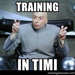 dr. evil quotation marks - TRAINING IN TIMI