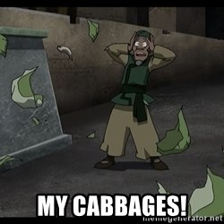My cabbages -  MY CABBAGES!