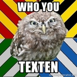 JEALOUS POTTEROMAN - who you texten