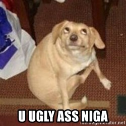 Oh You Dog -  U UGLY ASS NIGA
