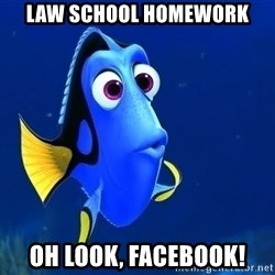 law school homework oh look facebook forgetful dory meme generator david dror,Dory Meme Maker