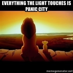 Simba - EVERYTHING THE LIGHT TOUCHES IS PANIC CITY
