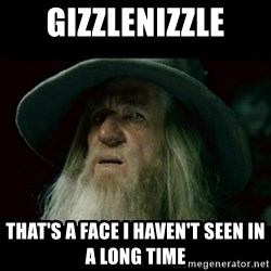 no memory gandalf - Gizzlenizzle That's a face I haven't seen in a long time