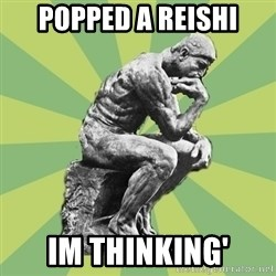 Overly-Literal Thinker - Popped a Reishi Im thinking'