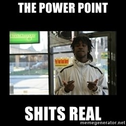 Chief Keef - the power point shits real