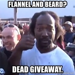 charles ramsey 3 - Flannel and beard? Dead Giveaway.