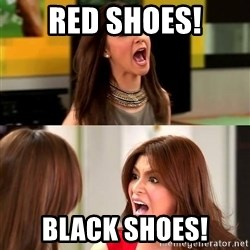 angel locsin - red shoes! black shoes!
