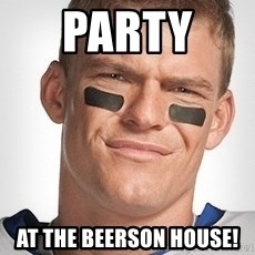 Thad Castle - Party  at the Beerson House!