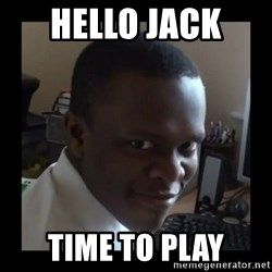 KSI RAPE  FACE - Hello jack  Time to play