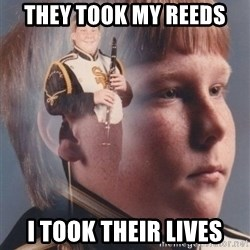 PTSD Clarinet Boy - They Took My Reeds I took their lives