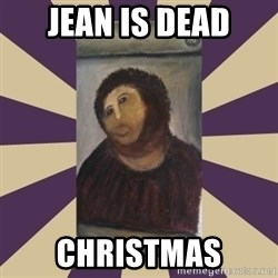 Retouched Ecce Homo - Jean is Dead CHRISTMAS