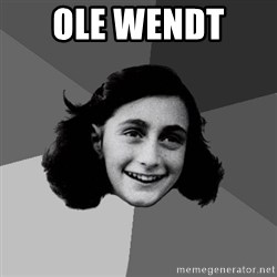 Anne Frank Lol - Ole wendt