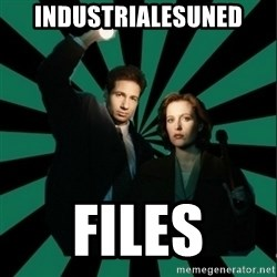 "Typical fans ""The X-files"" - industrialesuned files"