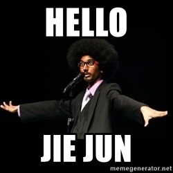 AFRO Knows - hello jie jun