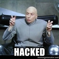 dr. evil quotation marks -  Hacked