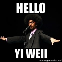 AFRO Knows - hello yi weii