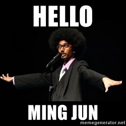 AFRO Knows - hello ming Jun