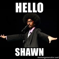 AFRO Knows - hello shawn