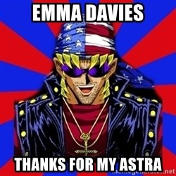bandit keith - emma davies thanks for my astra