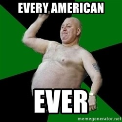 The Football Fan - Every american Ever