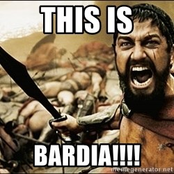 This Is Sparta Meme - THIS IS BARDIA!!!!