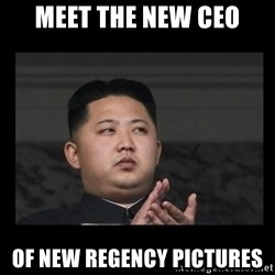 Kim Jong-hungry - Meet the new CEO of New Regency Pictures