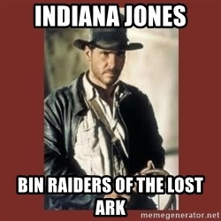 Indiana Jones - Indiana Jones Bin Raiders of the Lost Ark