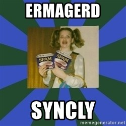 ERMAGERD STOOLS  - Ermagerd  Syncly