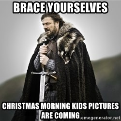 ned stark as the doctor - Brace yourselves  Christmas morning kids pictures are coming