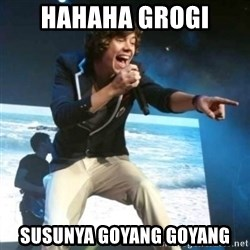 Heartless Harry - hahaha grogi susunya goyang goyang