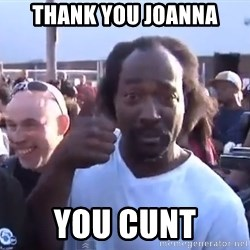 charles ramsey 3 - Thank you Joanna You CUNT