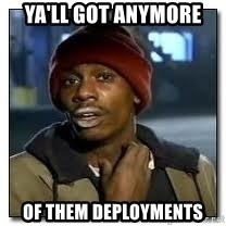 Dave Chapelle crackhead - Ya'll got anymore  of them deployments