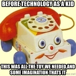 Sinister Phone - Before technology as a kid this was all the toy we needed,and some imagination thats it