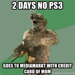 philosoraptor call of duty - 2 DAYS NO PS3 GOES TO MEDIAMARKT WITH CREDIT CARD OF MOM