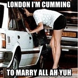 Karma prostitute  - London I'm cumming To marry all ah yuh
