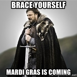 ned stark as the doctor - Brace Yourself Mardi Gras is coming