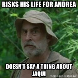 The Dale Face - Risks His life for andrea Doesn't say a thing about Jaqui