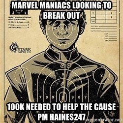 Child queen Phlash Misericord - marvel maniacs looking to break out 100k needed to help the cause pm haines247