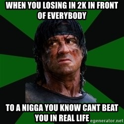 remboraiden - When you losing in 2K in front of everybody to a nigga you know cant beat you in real life
