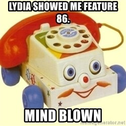 Sinister Phone - LYDIA SHOWED ME FEATURE 86. MIND BLOWN