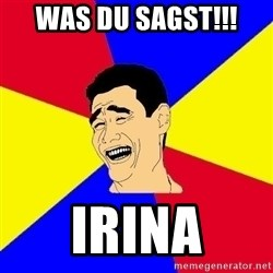 journalist - Was du sagst!!! Irina