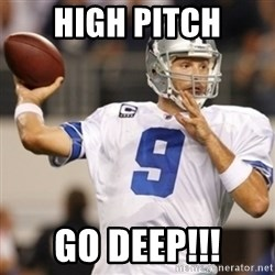 Tonyromo - High pitch Go deep!!!